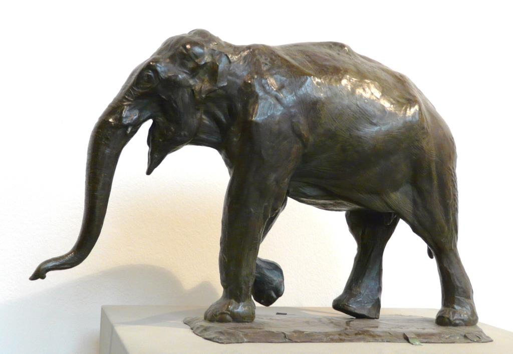 Bronze Colcombet Bugatti éléphant