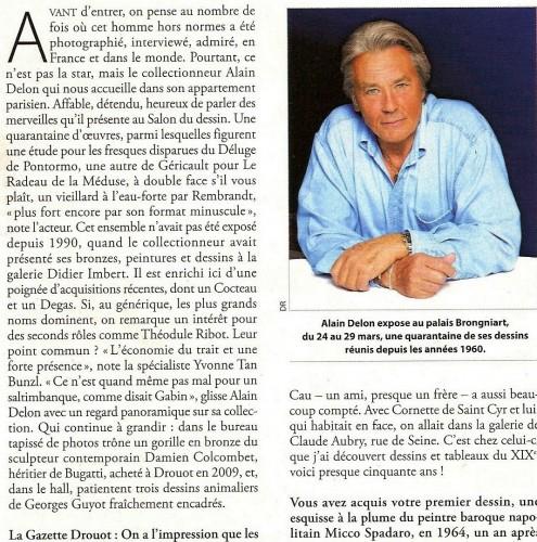 Alain Delon Colcombet