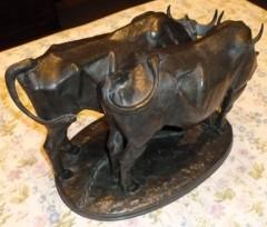 Colcombet bronze ancien Jacquemart