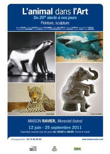 Exposition l'animal dans l'Art