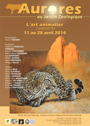 Exposition Aurores l'art animalier