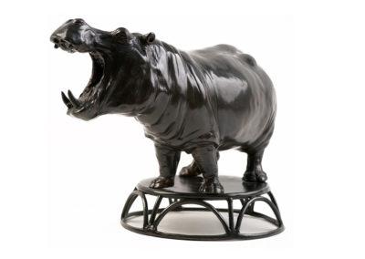Hippopotame gueule ouverte (ÉPUISÉ)