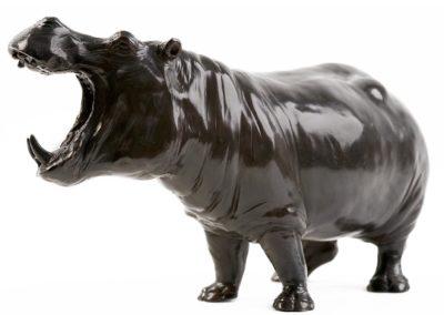 Hippopotame gueule ouverte - Vue 04
