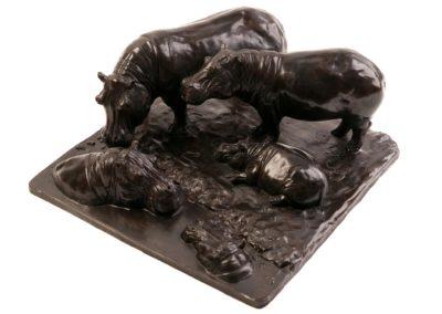 Le bain des hippopotames - Vue 03