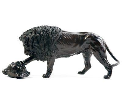 Le lion et la tortue - Vue 01