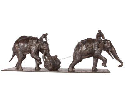 Eléphants d'Asie - Vue 04