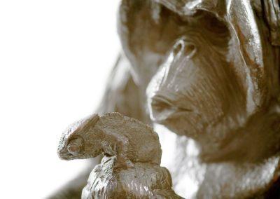 Aristote, son fils et le caméléon - Vue 04
