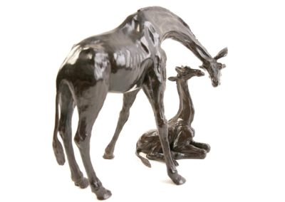 Girafe et girafon - Vue 03