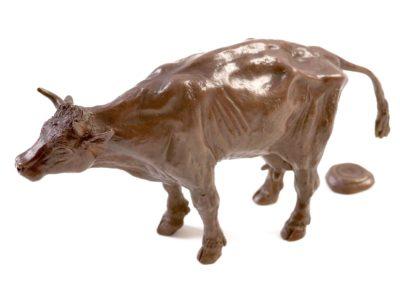 La vache dans l'effort - Vue 01