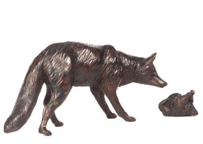 Le renard et le poulet ou le renardeau