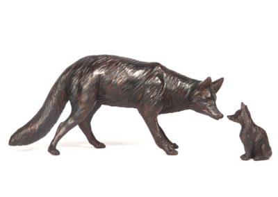 Le renard et le renardeau - Vue 02