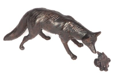 Le renard et le renardeau - Vue 03