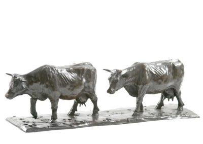 Les vaches laitières (deux)