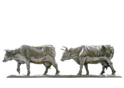 Les vaches laitières - Vue 01