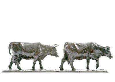 Les vaches laitières - Vue 02