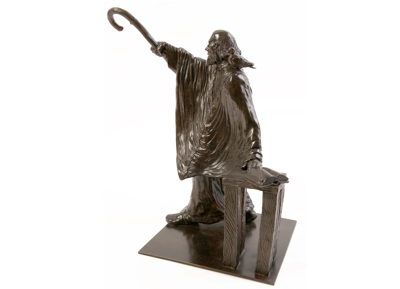 Bronze Colcombet Saint Irénée évêque de Lyon