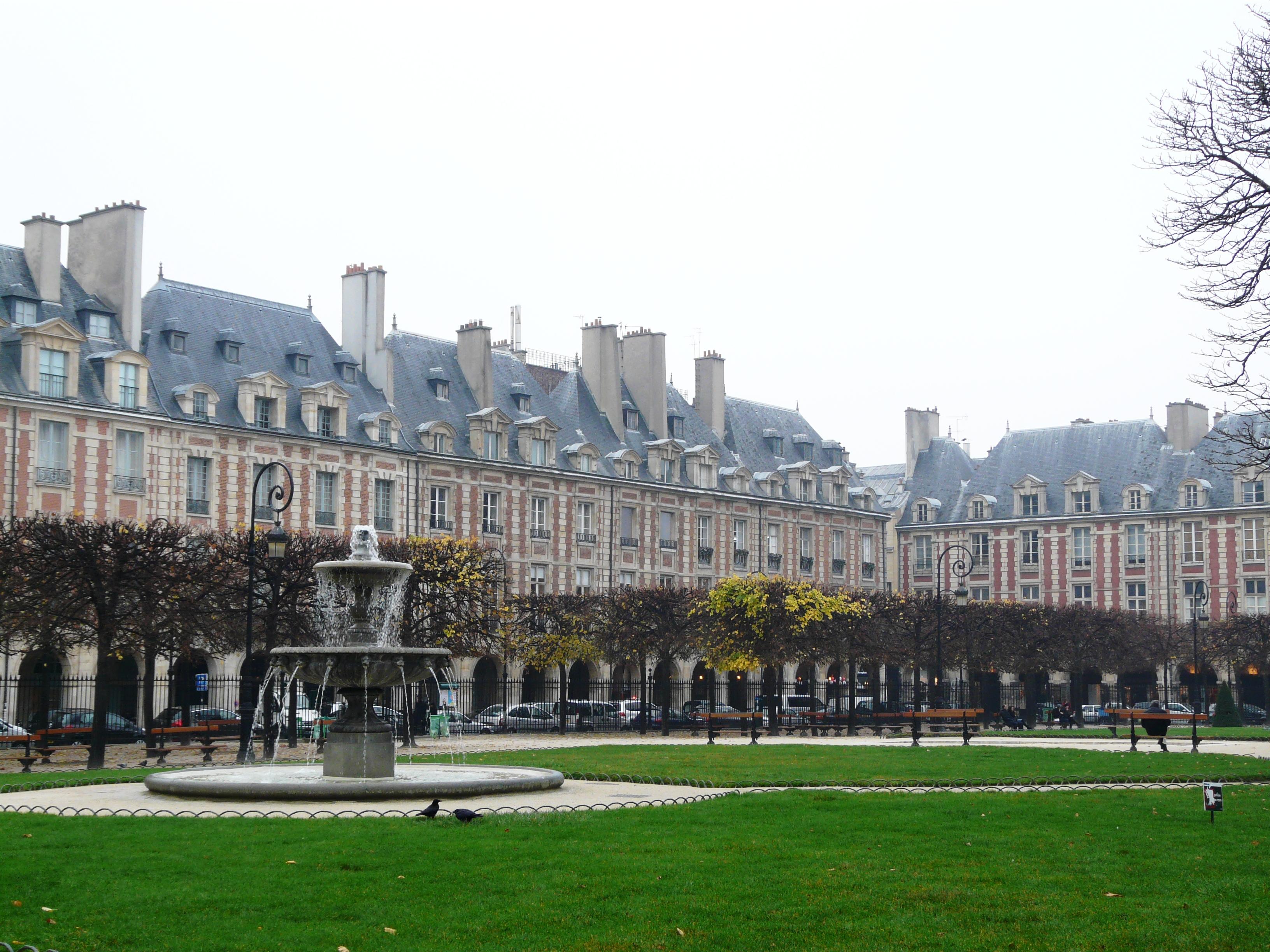 Exposition Colcombet Estades Place des Vosges Paris