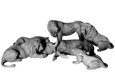 Le festin des lions (projet)