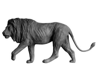 Grand lion marchant (projet)