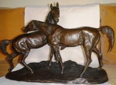 Colcombet bronze ancien Mêne