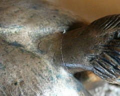 Bronze ancien Colcombet Frémiet