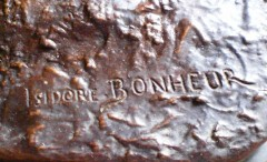 Colcombet bronze ancien Isidore Bonheur