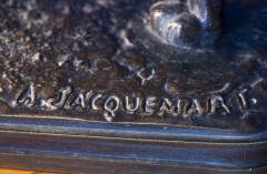 Bronze ancien Colcombet Jacquemart