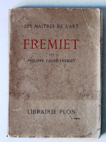 Bronze Colcombet livre Frémiet