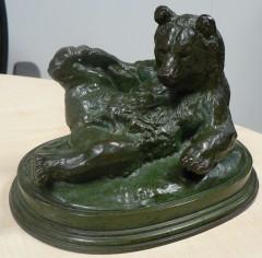 Bronze ancien Barye Colcombet