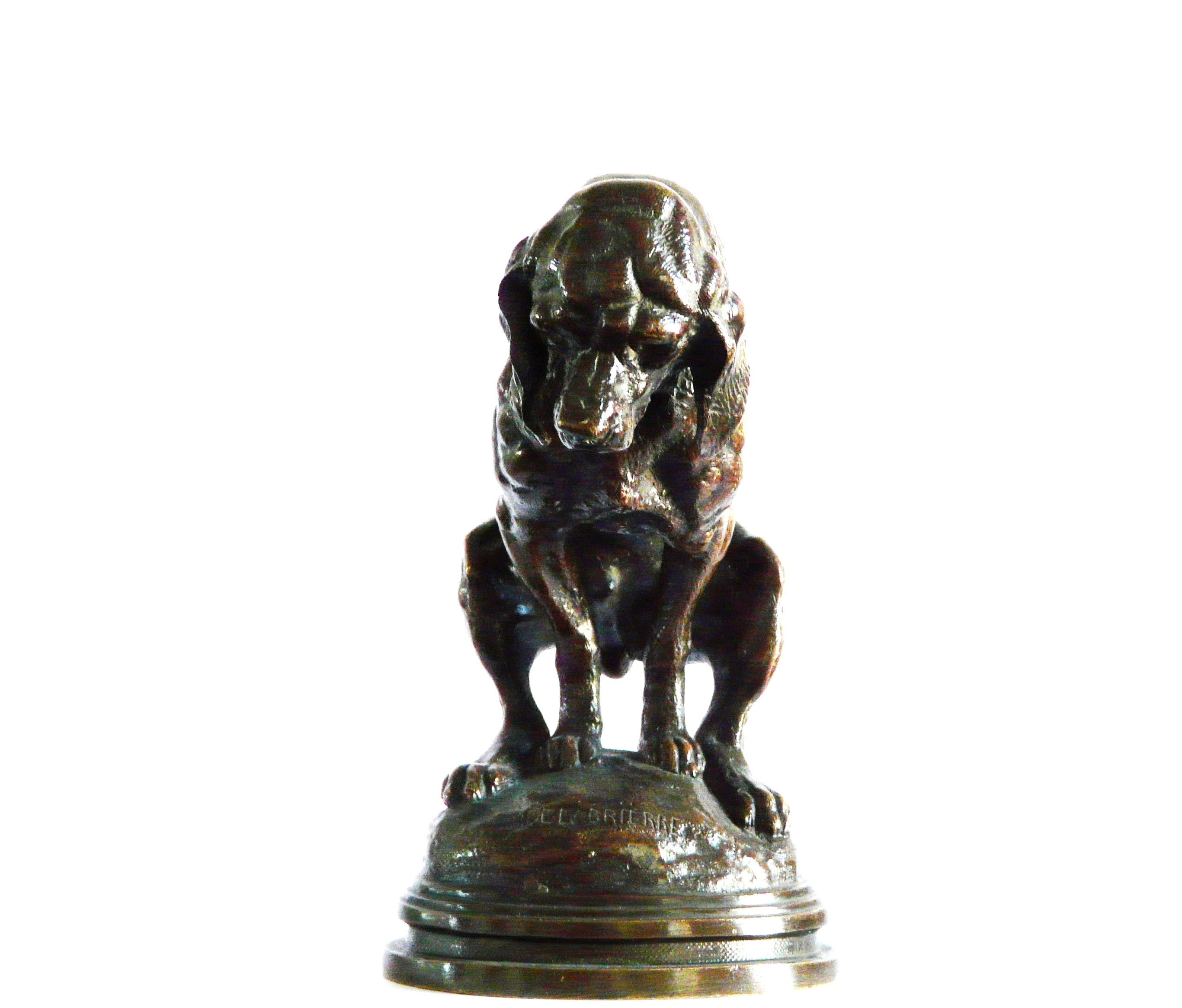 Bronze ancien Delabrierre Colcombet