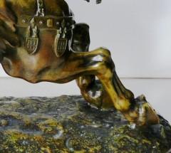 Bronze ancien Bacque Colcombet