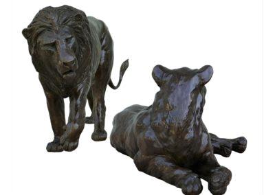 Lion-et-lionne-bronze-vue-01