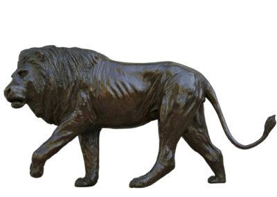 Lion-marchant-bronze-vue-03