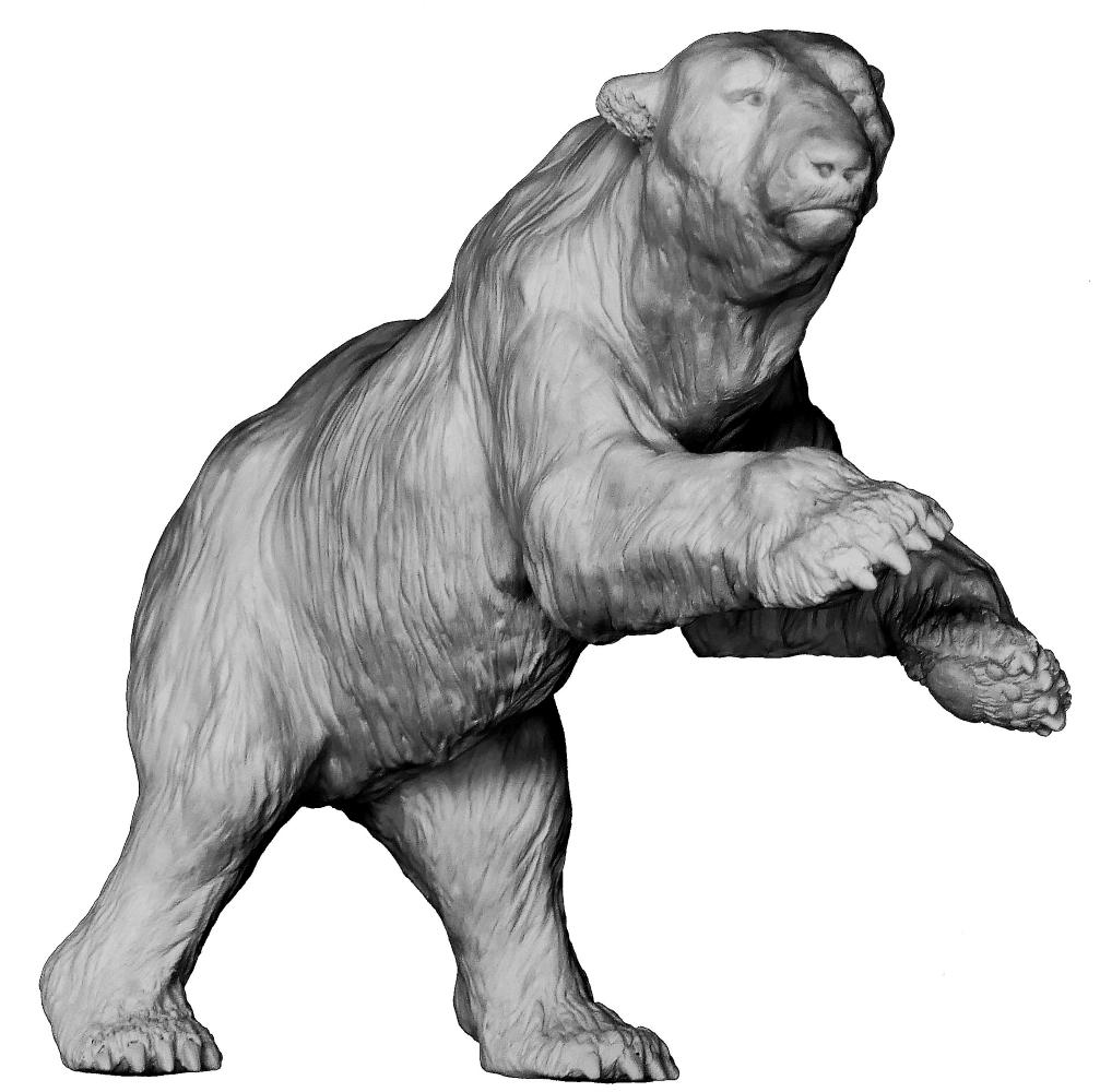 Sculpture bronze Colcombet ours blanc polaire