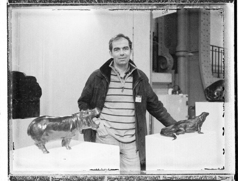 Damien Colcombet sculpteur bronzes animaliers