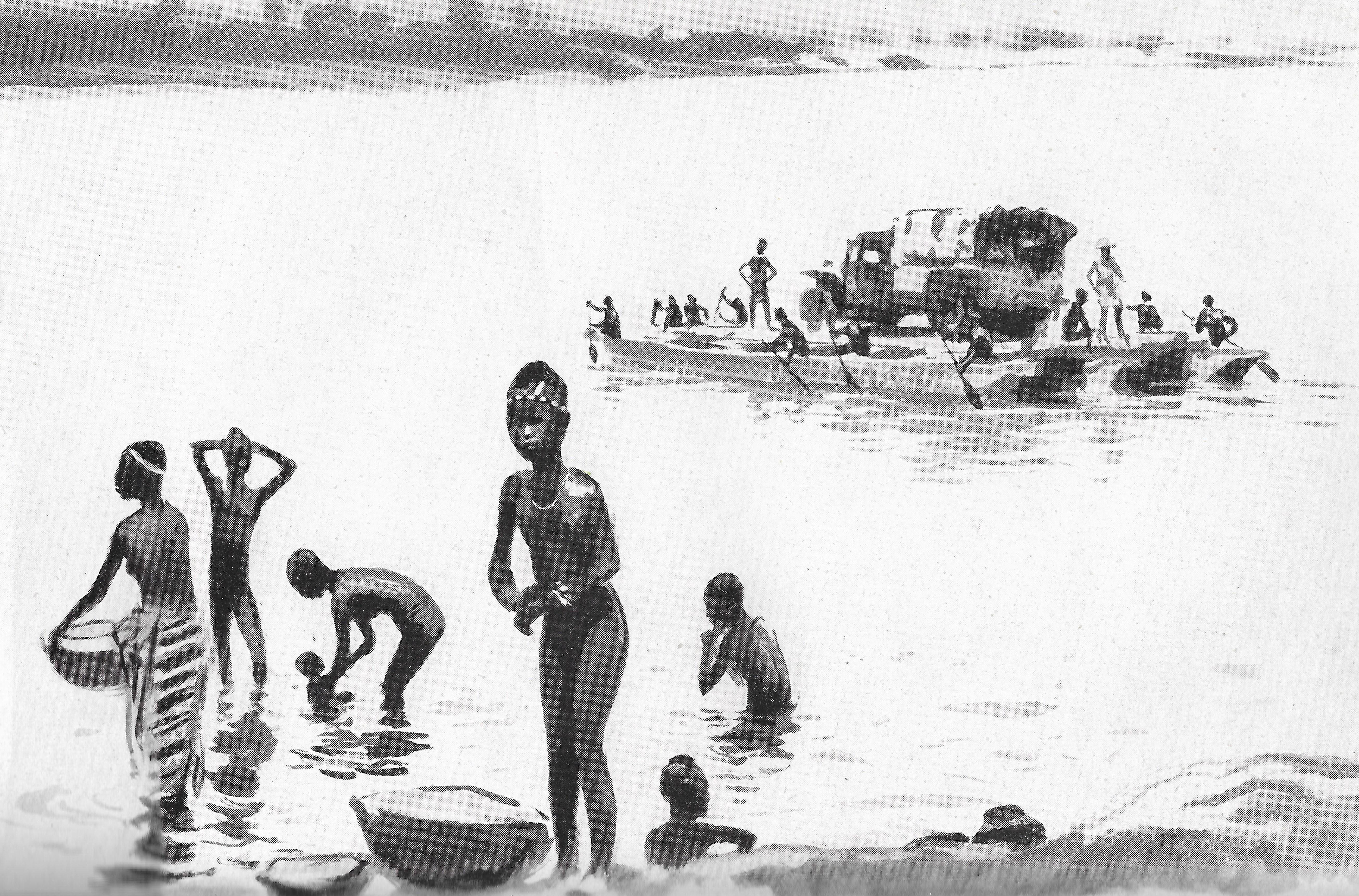 Albert Brenet bac en Afrique Colcombet